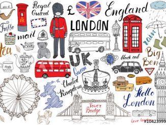 Język angielski - ilustracyjne