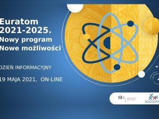 Euroatom - dzień informacyjny - plakat