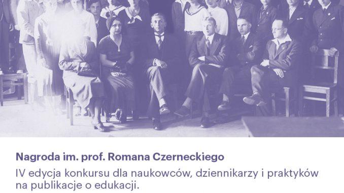 Nagroda im. prof. Czerneckiego - baner