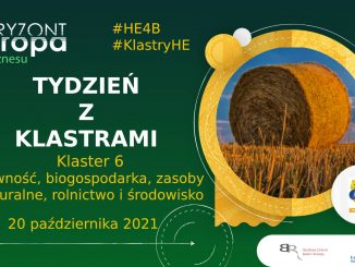 Klaster 6 Żywność i biogospodarka - webinarium